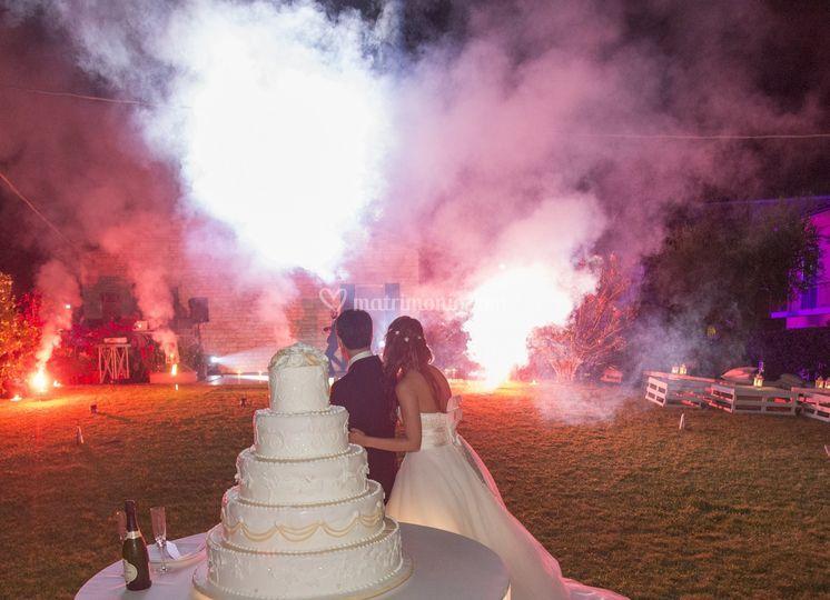 Sposi e Fuochi d'artificio