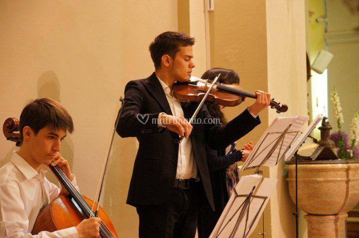 Violino e violoncello