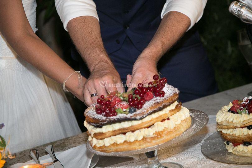 Catering cerinella for Decorazione torte millefoglie