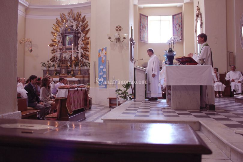 Totale in chiesa