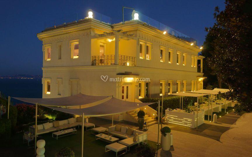 Villa in oro