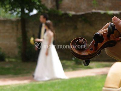 Il violino che accompagna...