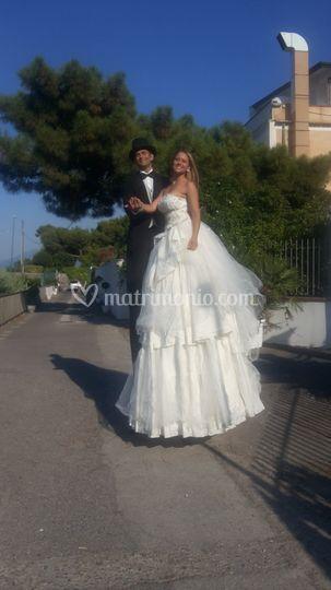 Accoglienza sposo e sposa