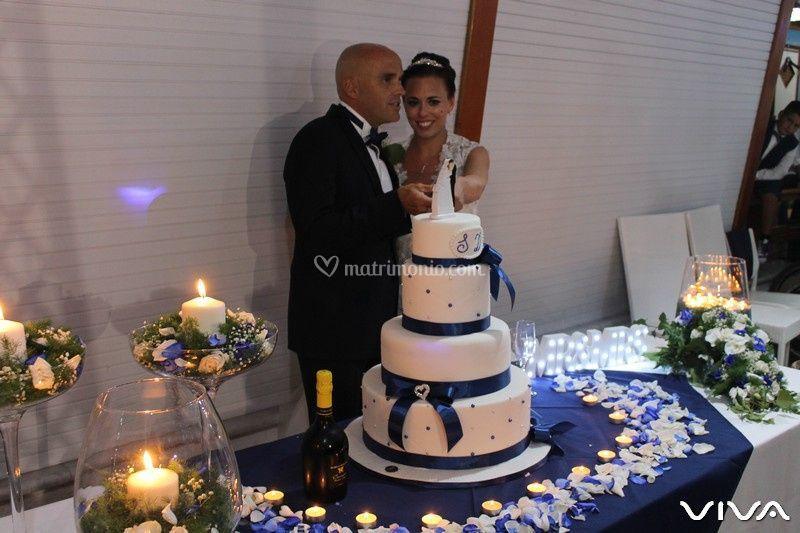 Allestimenro Wedding cake