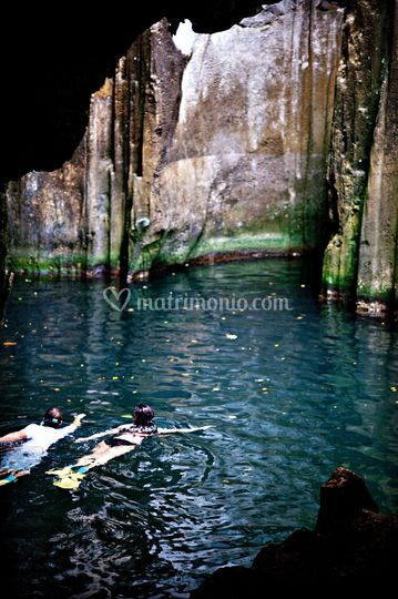 Cenote in messico