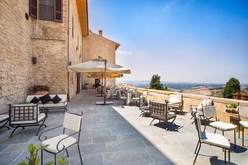 Location Matrimonio Toscana : Toscana resort castelfalfi