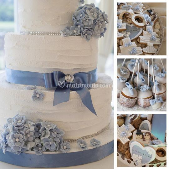 Wedding cake con i dettagli