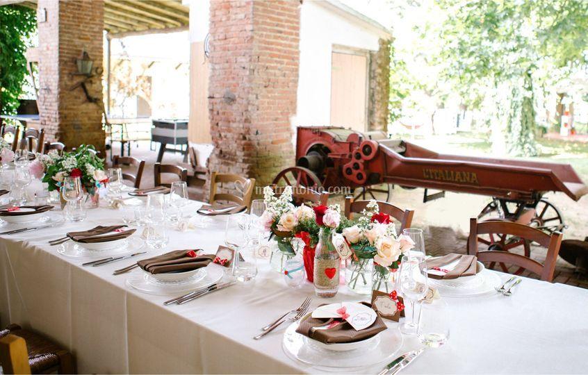 Tavolo imperiale vintage