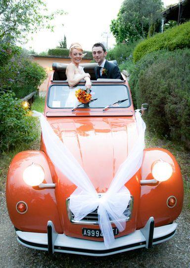 2CV for Wedding