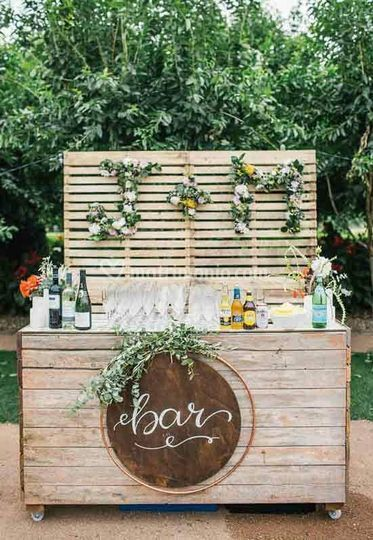 Bar di legno