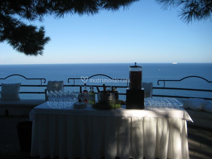 Wedding location in Alassio
