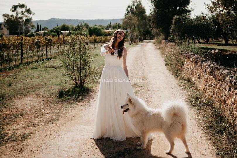 Sposa e cagnone