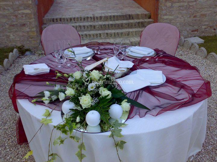 Mise en place wedding