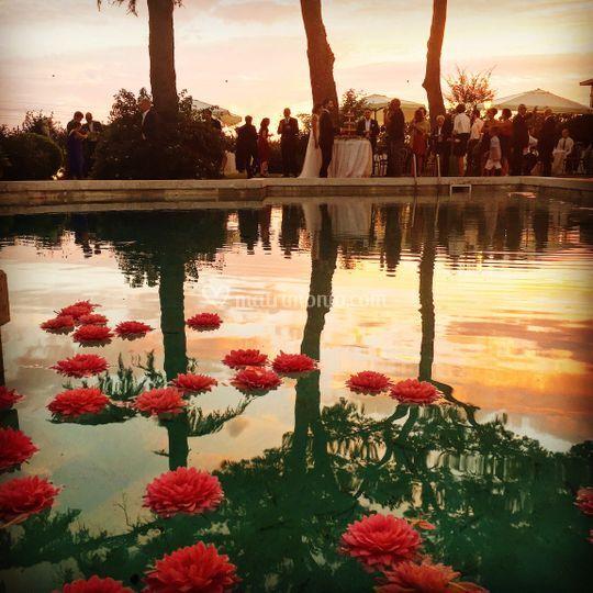 Villa dafne majestic for Cuscini galleggianti piscina