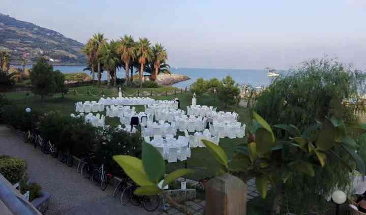 Foto giardino dall'alto