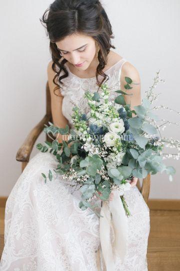 Bouquet sposa moderno