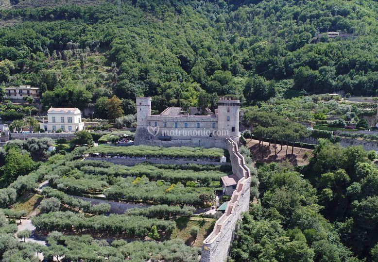 Il Castello visto da mare