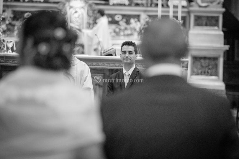Lo sposo vede la sposa