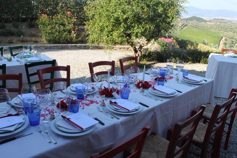 Matrimonio In Agriturismo : Matrimonio di agriturismo sottotono foto