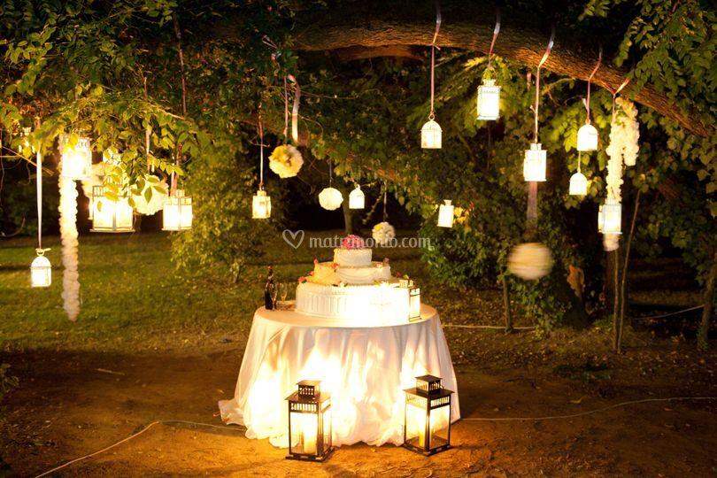 Allestimento wedding cake