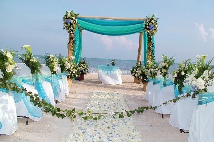 Matrimo in spiaggia