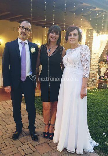 Io e gli sposi agosto 2020