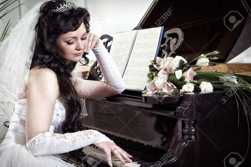Foto sposa per album