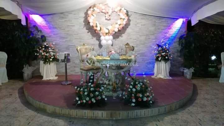 Tavolo d'Onore Villa di Villa Tropicana