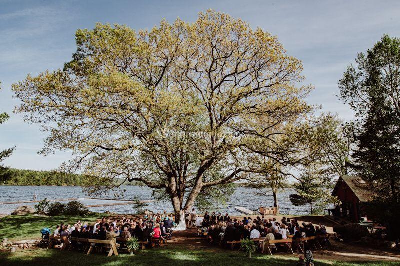Matrimonio sul lago in USA