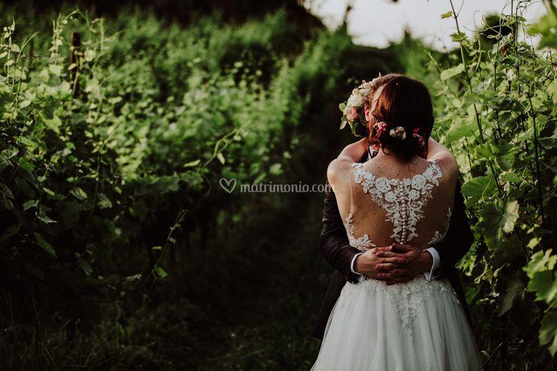 Matrimonio tra le vigne