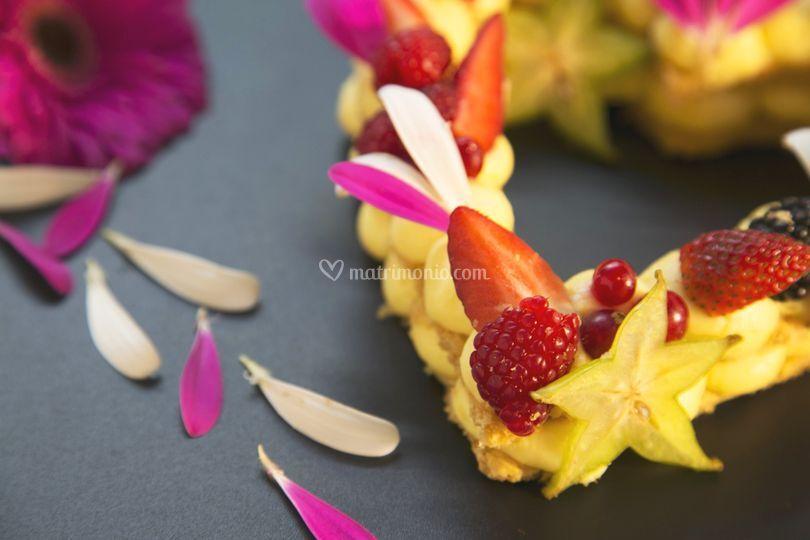 Cream tart romantica