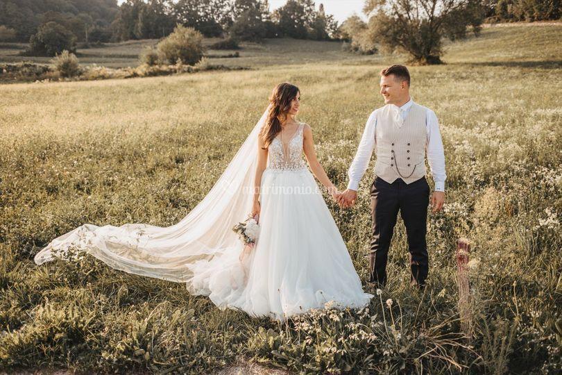Romantici sposi