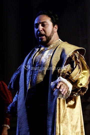 Duca di Mantova nel Rigoletto