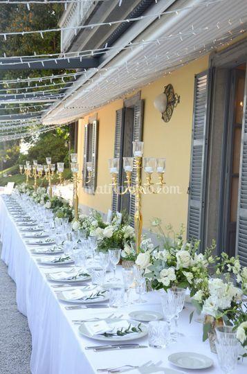 Matrimonio a Villa Aura