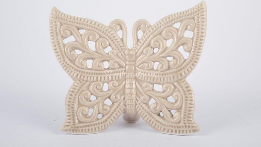 Farfalle in porcellana