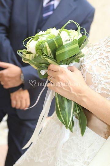 Foto della sposa e dello sposo