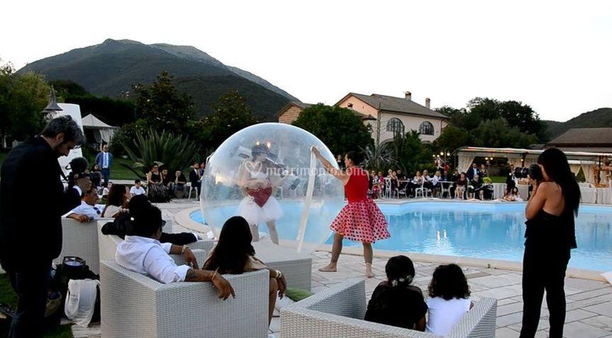 Violinista waterball