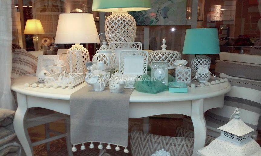 Lampade in porcellana