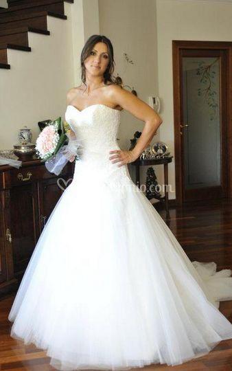 Vista della sposa