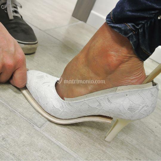 Prima prova calzatura.