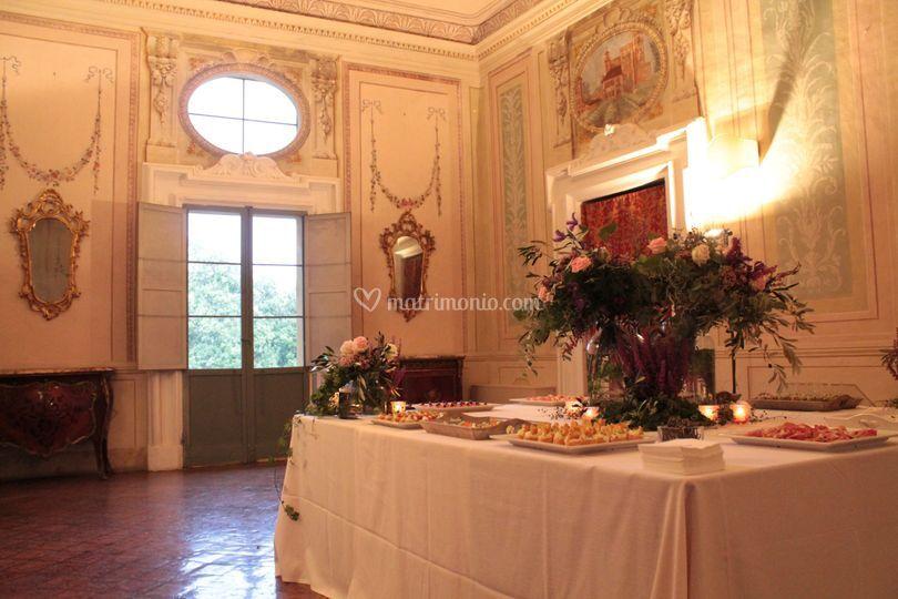 Aperitivo Sala degli affreschi