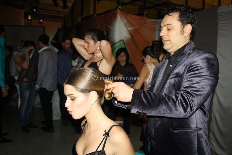 Umberto Caprile a lavoro