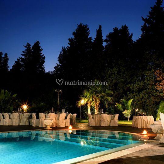Atmosfera bordo piscina