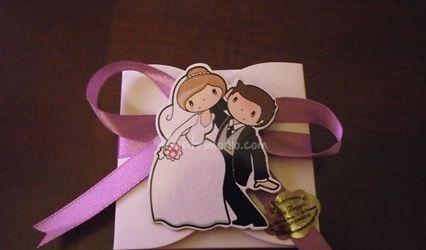 Calamite sposi personalizzate per matrimonio