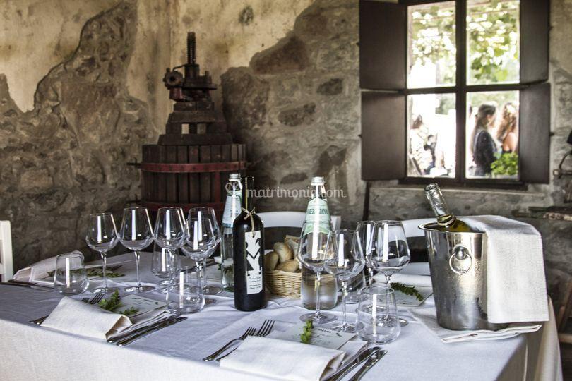 La stanza del vino