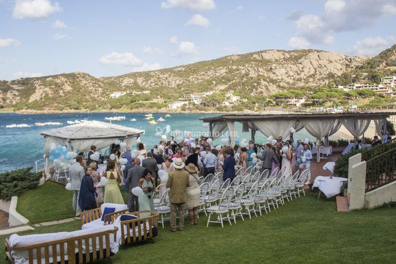 Matrimonio Simbolico In Giardino : Club hotel baja sardinia