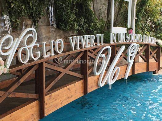 Annalisa del vecchio wedding design for Portico e design del ponte