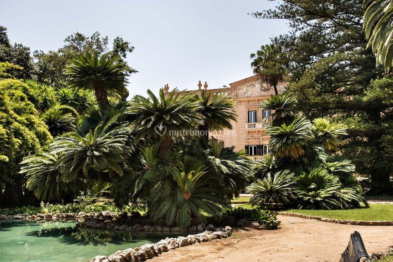 Il giardino di Villa Tasca