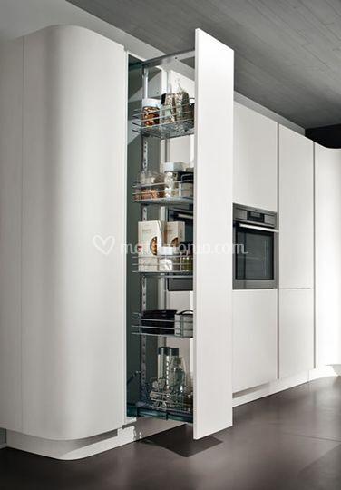 Lada mobili - Carrello estraibile cucina ...