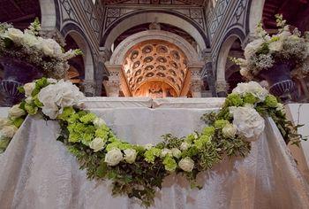 Nozze nella Basilica di San Miniato al Monte a Firenze